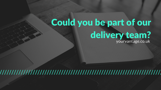 Could you be part of our delivery team?